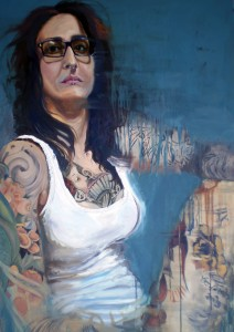 Soledad, Kandy Lopez, Oil on canvas. Photo courtesy of Professor Karen Leader.