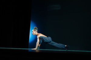 Clarence Brooks performing his dance interpretation of Marks. Photo by Max Jackson.