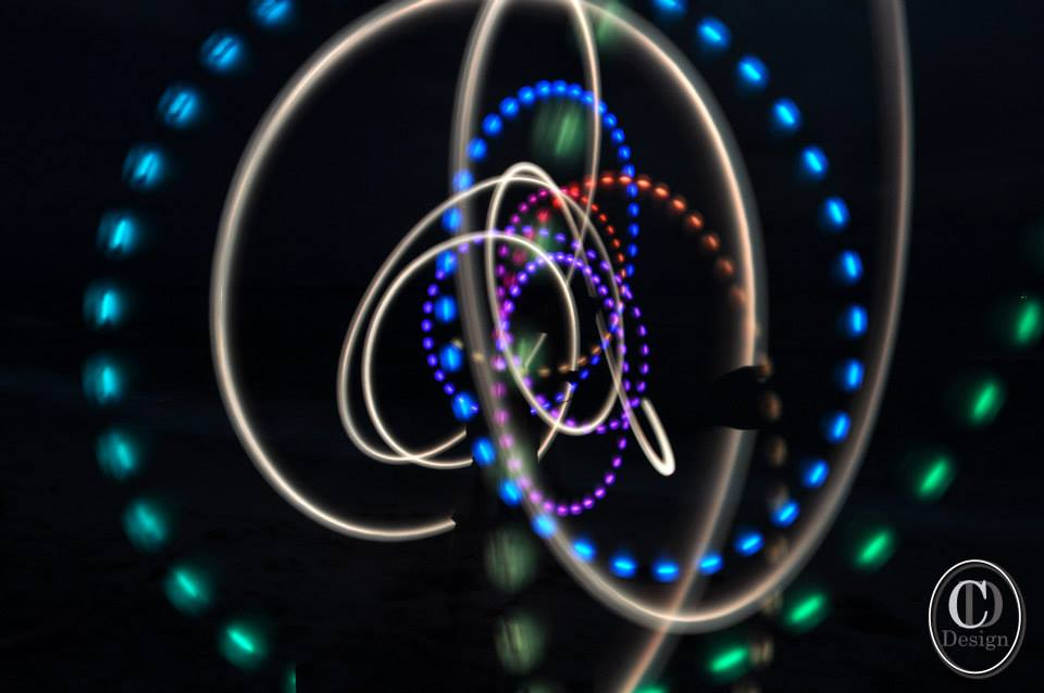 Sabrina Martinez     Contributing Photographer After learning about long exposure technique at the workshop on Tuesday, members of the photography club were able to produce images like this one.