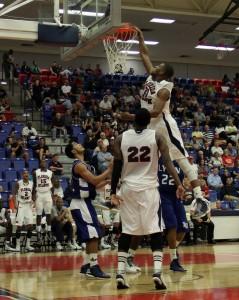 Senior forward Jordan McCoy led the Owls with 191 rebounds this season. Photo by Melissa Landolfa