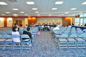 The First meeting of the FAU Presidential Search Committee. Photo by Michelle Friswell.