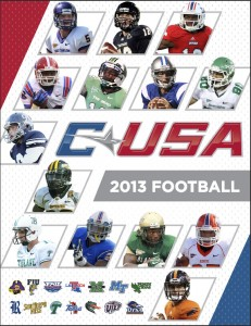 Conference USA's media guide features information on some of its newest members, including the Owls. Photo courtesy of C-USA.